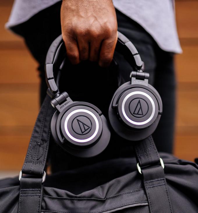 Studiovky M50x přicházejí na trh ve verzi Bluetooth