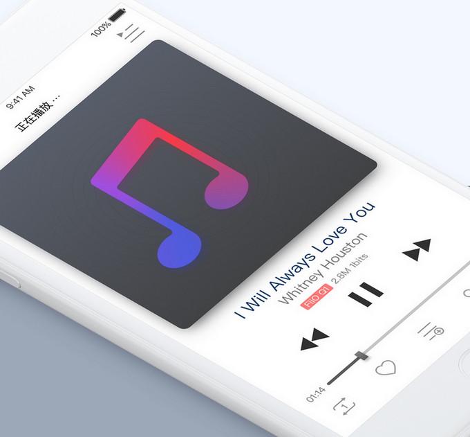 FiiO má vlastní aplikaci pro přehrávání hudby
