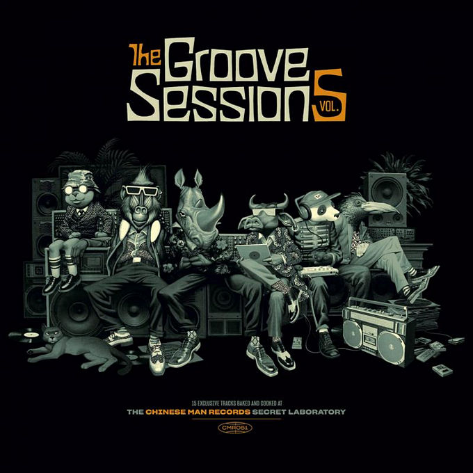 Chinese Man, Baja Frequencia - Groove Sessions Vol.5