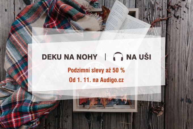 Deku na nohy, sluchátka na uši - podzimní slevy až 50 % na Audigu!