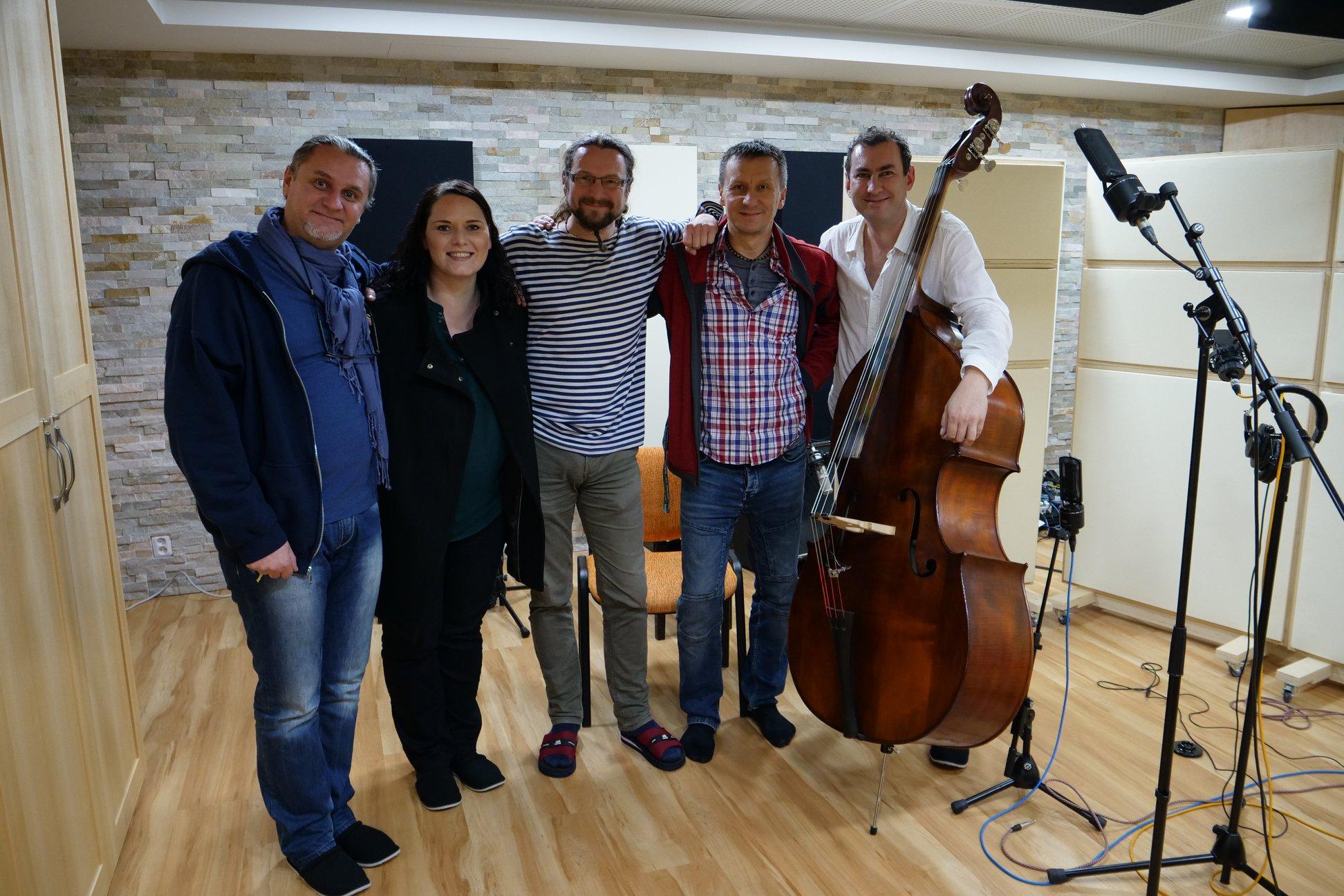 Bronislav Šmid, Tomáš Kočko & Orchestr ve Studiu Fascinum (foto FCB Studio Fascinum)